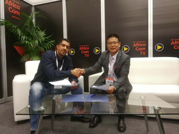 Hongdian cellular router became the focus of attention at AfricaCom2017
