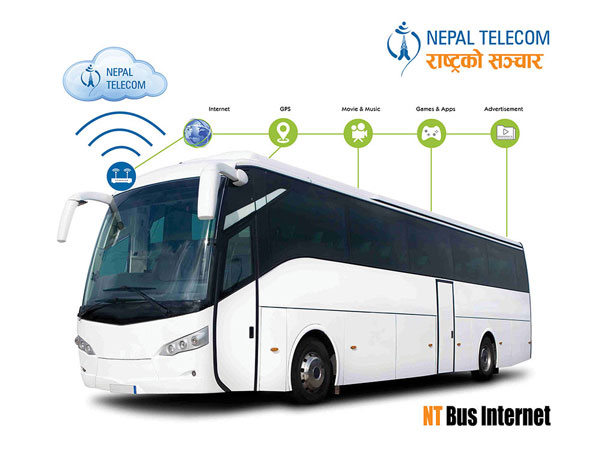 Hongdian partners with Nepal Telecome to establish Nepal tour bus Wi-Fi system